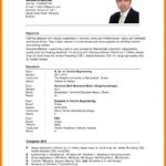 56 New English Cv Template with Images