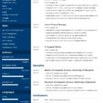 57 Best Best Resume Templates For It Professionals with Design