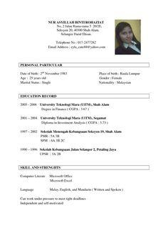 57 Excellent Best Resume Format Examples for Gallery