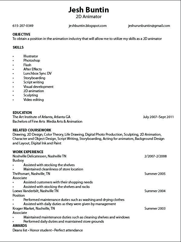 58 Excellent Busboy Resume for Images
