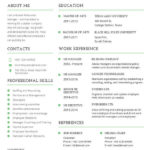 58 Lovely Free Printable Resume for Design