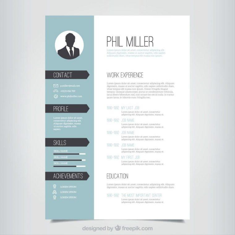 59 Cool Cv Template Gratis with Graphics