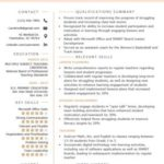 59 Fresh Experienced Teacher Resume Examples for Gallery