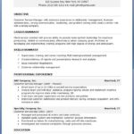59 Great Professional Resume Format for Gallery