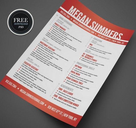 60 Best Free Creative Resume Templates Microsoft Word by Pictures