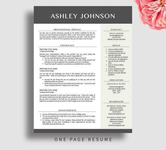 60 Best Free Pages Resume Templates by Pictures