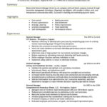 60 Fresh Experience Description Resume Examples for Pics