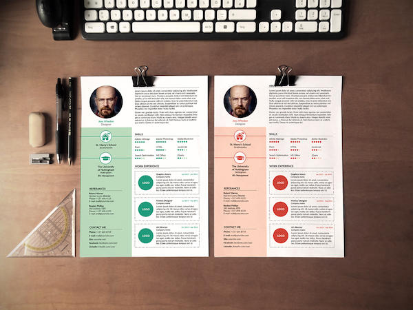 60 Great Free Ms Word Resume Templates with Pictures