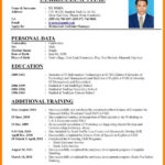 60 Inspirational How To Prepare Resume with Graphics