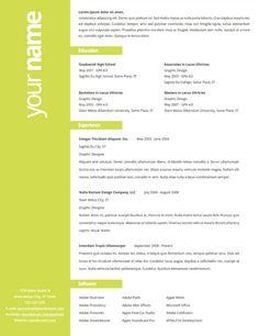 60 Stunning Cv Page Layout by Ideas