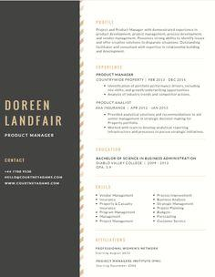 61 Great Great Looking Resume Templates with Images