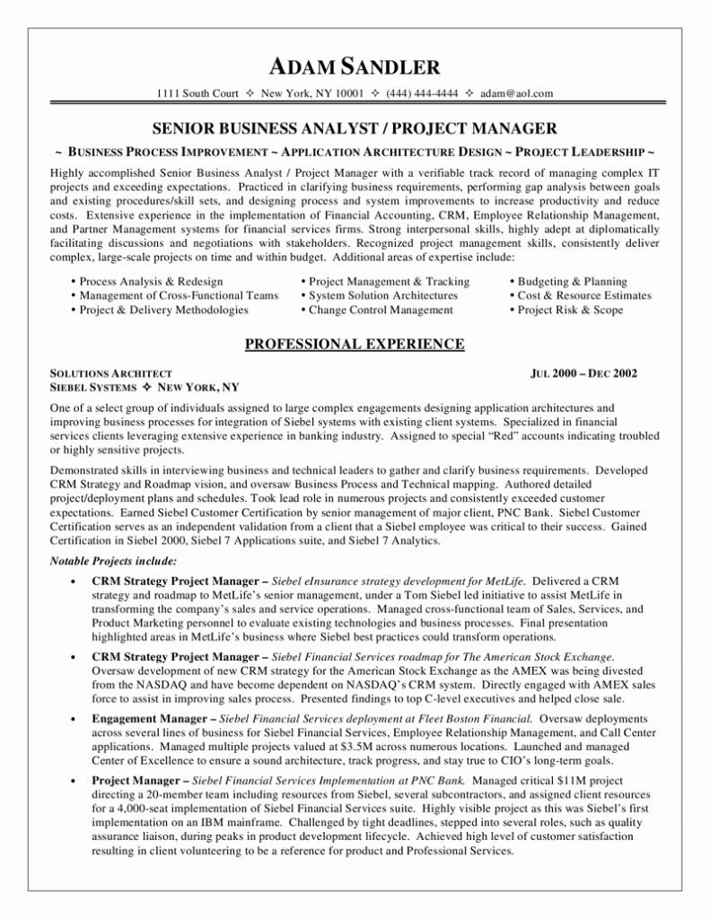 61 Top Business Analyst Resume Examples 2018 by Graphics