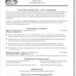 62 Cool Early Childhood Education Resume Examples by Graphics