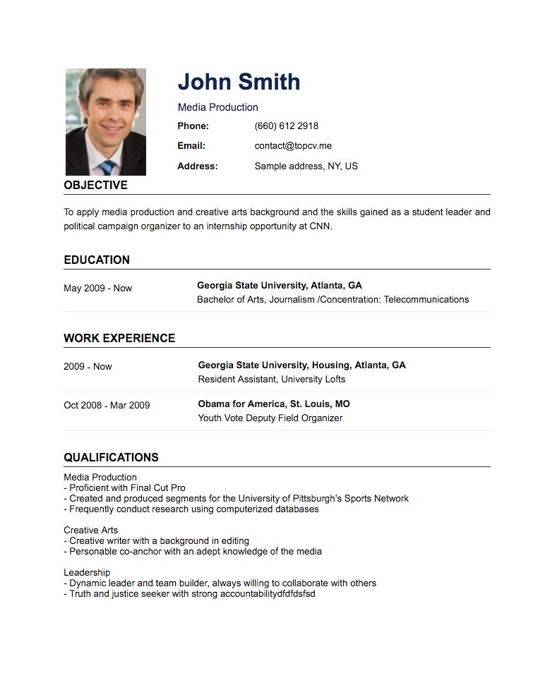62 Great Hot To Make A Resume with Pics