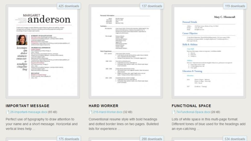 62 New Free Online Resume Templates Australia for Pictures