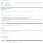 62 Top Resume Templates For Freshers by Design
