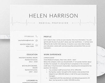 63 Best Nursing Resume Template with Ideas