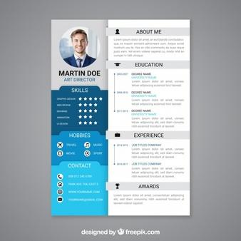 63 Excellent Curriculum Vitae Template by Graphics