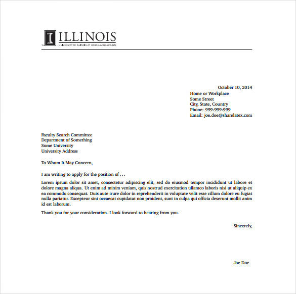 63 Great Free Cover Letter Examples with Pictures