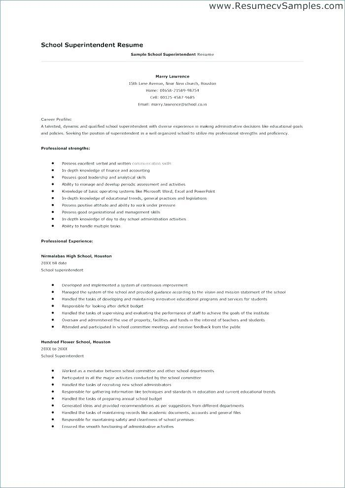 64 Fresh Construction Superintendent Resume Cover Letter Examples for Ideas
