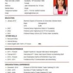 64 Nice Good Resume Sample Malaysia by Images