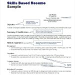 64 Stunning Examples Of Skills Based Resume for Pics