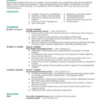 65 Beautiful Early Childhood Education Resume Examples with Pics