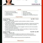 65 Cool Updated Resume Format for Gallery