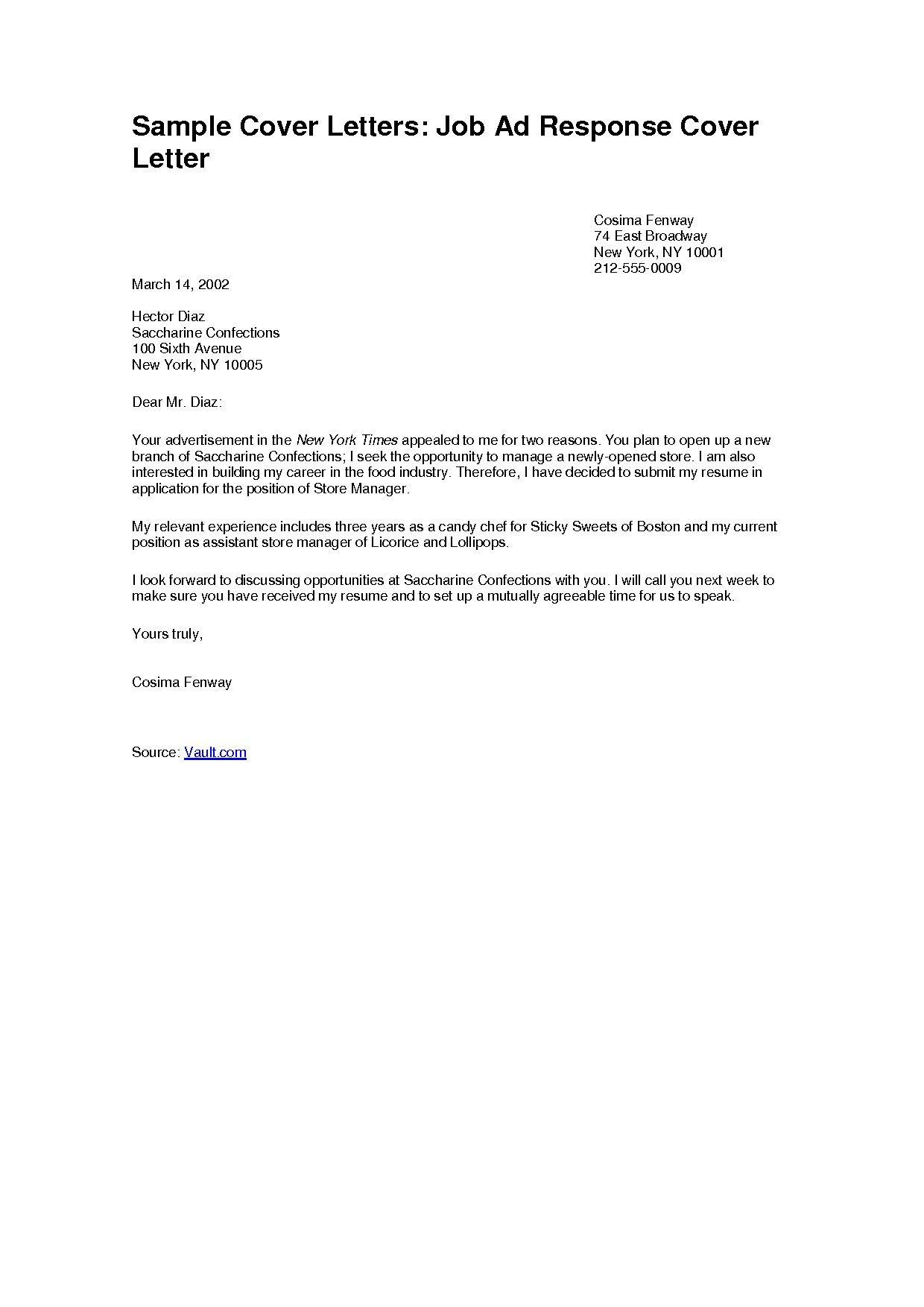 66 Best Cover Letter For Employment for Images