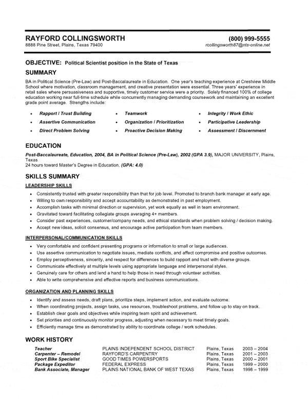 66 Excellent Whats The Best Resume Format To Use for Gallery