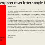 68 Best Application Letter Sample For Civil Engineer for Pics