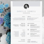 68 Cool One Page Cv Template for Images