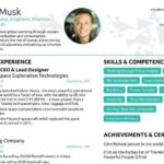 68 Fresh Elon Musk Resume by Ideas