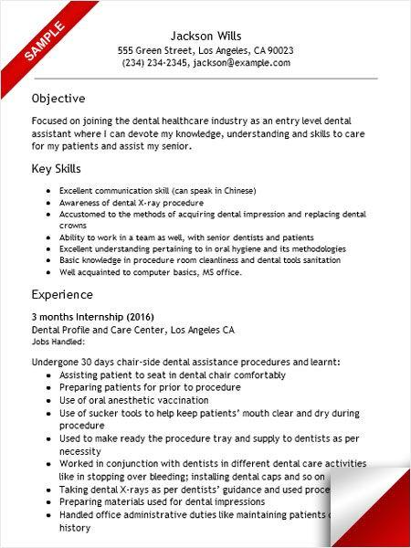 68 Lovely Dental Assistant Resume Skills Examples for Design