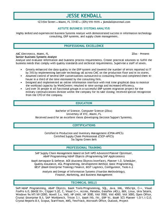 69 New Business Analyst Resume Examples 2018 with Ideas