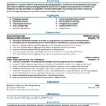 69 Nice Civil Engineer Resume with Pictures