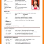 70 Beautiful How To Prepare Resume with Design