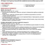 70 Nice Job Resume Template by Gallery