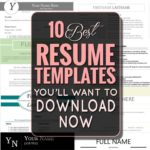 70 Nice Recommended Resume Templates for Graphics