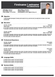 70 Top Free Cv Resume Builder by Pictures