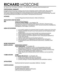71 Beautiful Dental Assistant Resume Skills Examples with Ideas