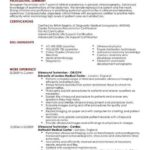 71 Fresh Sonographer Resume for Gallery