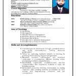 72 Cool Format Of Resume For Job Pdf with Design