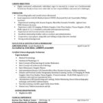 72 Fresh Sonographer Resume with Design