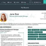 73 Excellent Online Resume Template with Graphics