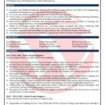 73 Fresh Civil Engineer Resume by Gallery
