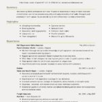 73 Great New Resume Format for Gallery