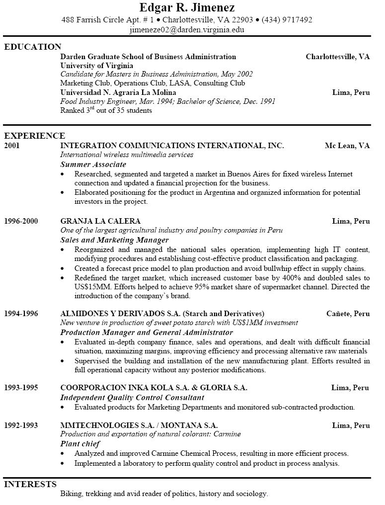 73 Inspirational Sample Of A Good Resume Format for Graphics