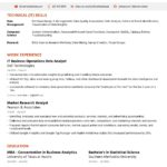 73 Nice Good Resume Examples 2019 by Pics