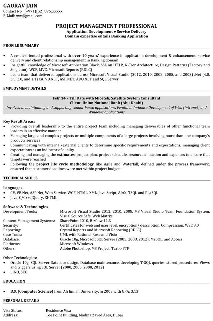 73 Stunning Experienced Software Engineer Resume with Gallery